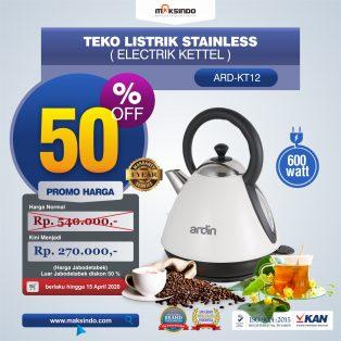 Jual Teko Listrik Stainless (Electrik Kettel) ARD-KT12 di Yogyakarta
