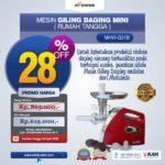 Jual Mesin Giling Daging Mini (Rumah Tangga) – Ardin di Yogyakarta