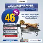 Jual Mesin Kambing Guling BBQ Roaster (GRILLO-LMB22) di Yogyakarta