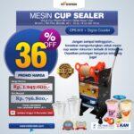 Jual Mesin Cup Sealer Manual di Yogyakarta