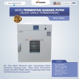 Jual Mesin Fermentasi Bawang Putih / Black Garlic Fermentaion MKS-FRM30 di Yogyakarta