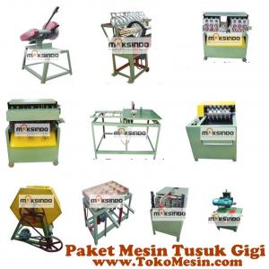 Jual Mesin Tusuk Gigi (paket komplit) di Yogyakarta