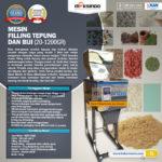 Jual Mesin Filling Tepung dan Biji (20-1200gr) di Yogyakarta