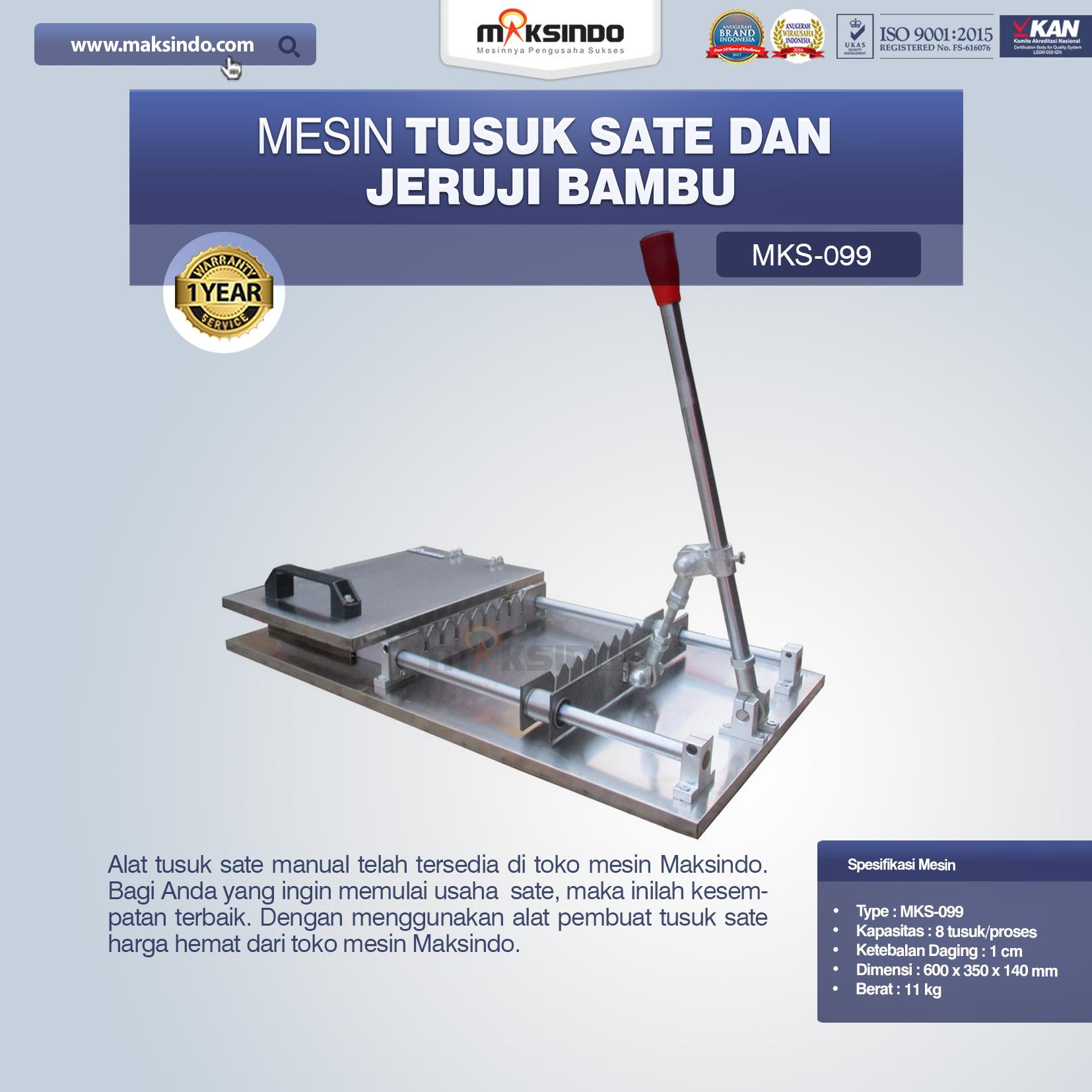 Jual Alat Tusuk Sate Manual MKS-099 di Yogyakarta