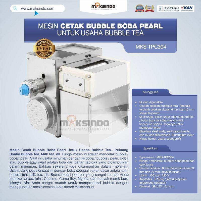 Jual Mesin Cetak Bubble Boba Pearl Untuk Usaha Bubble Tea di Yogyakarta