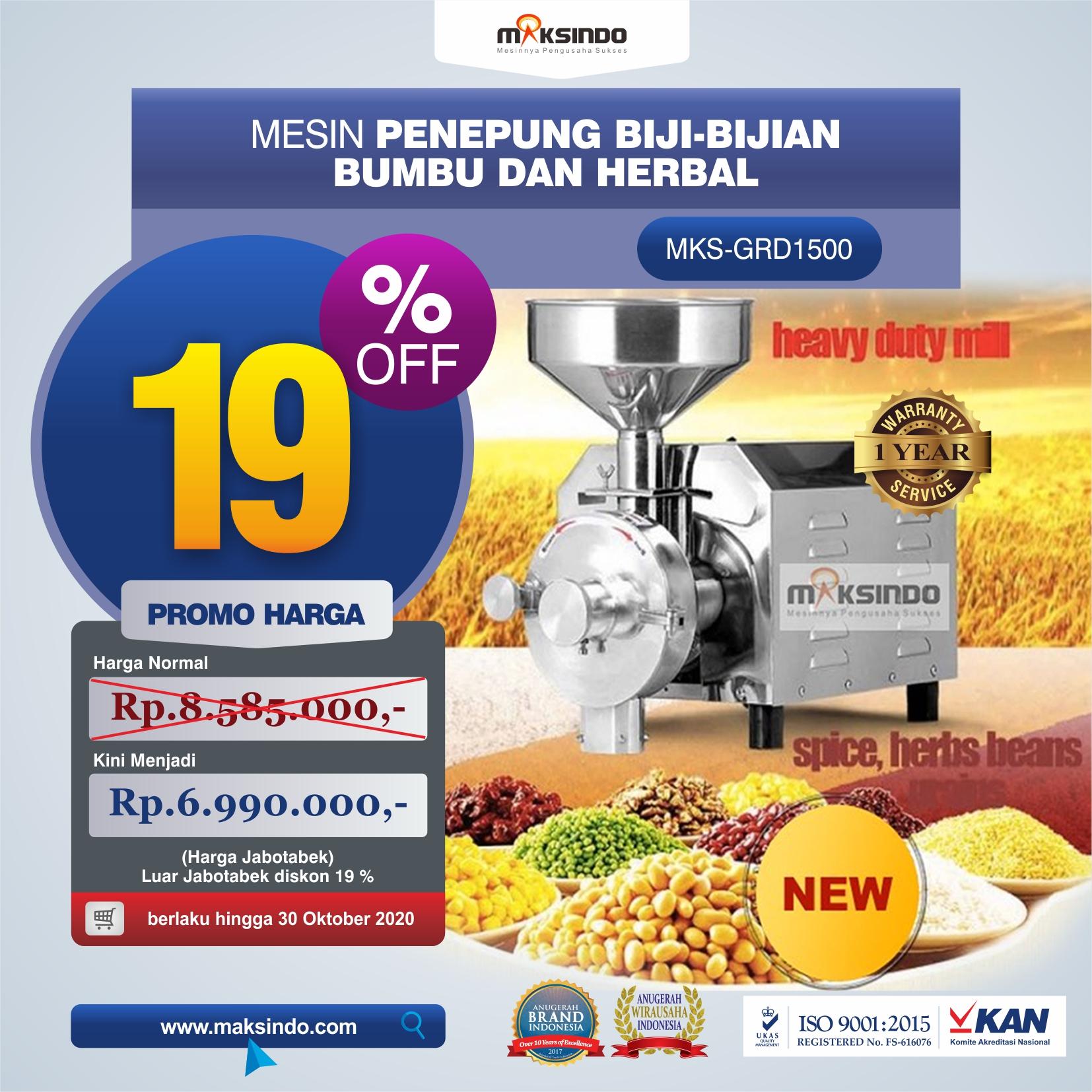 Jual Penepung Biji, Bumbu dan Herbal di Yogyakarta