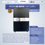 Jual Mesin Es Batu Ice Cube (ICU-75) di Yogyakarta