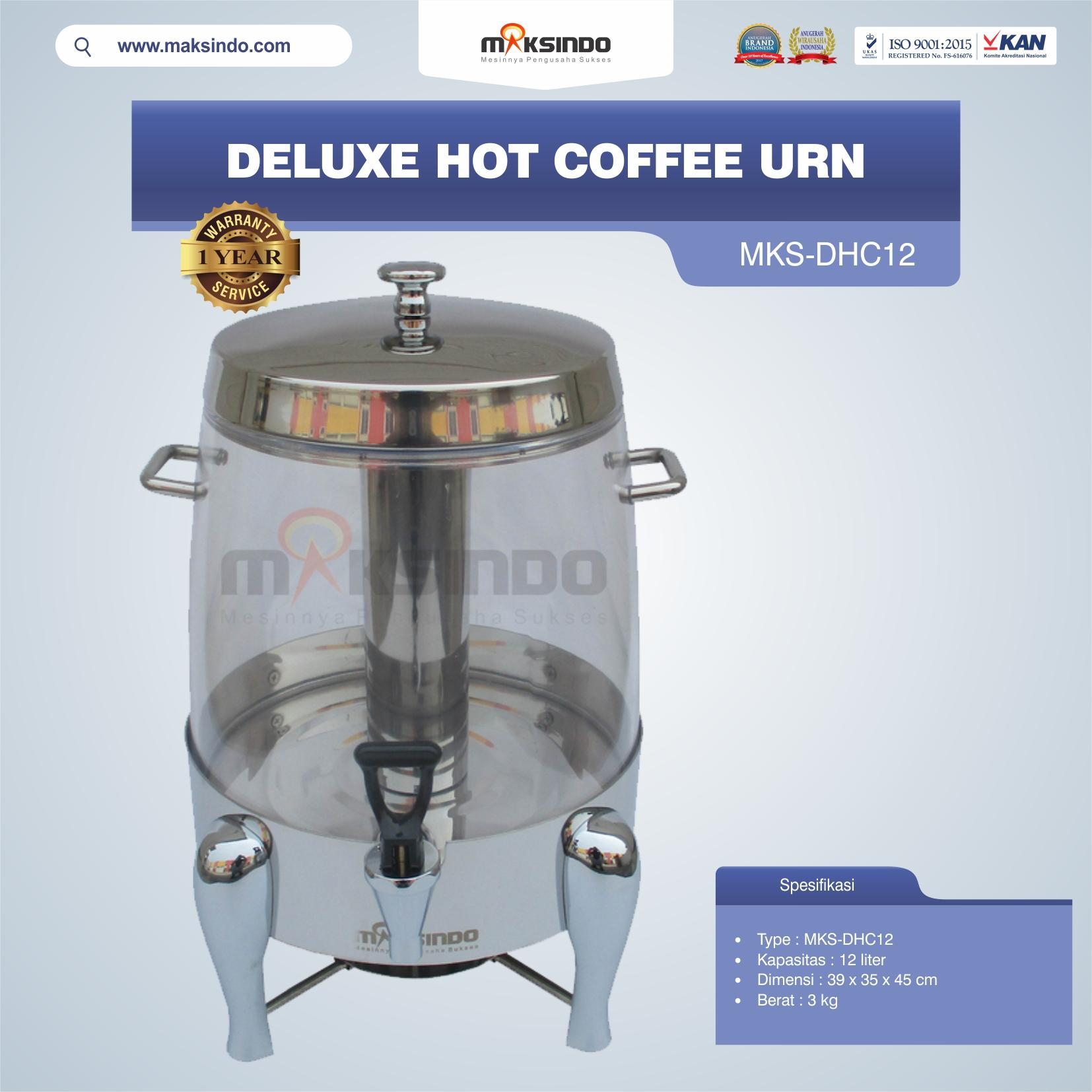 Jual Deluxe Hot Coffee Urn MKS-DHC12 di Yogyakarta