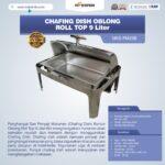 Jual Chafing Dish Oblong Roll Top – 9 Liter di Yogyakarta