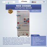 Jual Mesin Rice Cooker Kapasitas Besar MKS-GPN12 di Yogyakarta