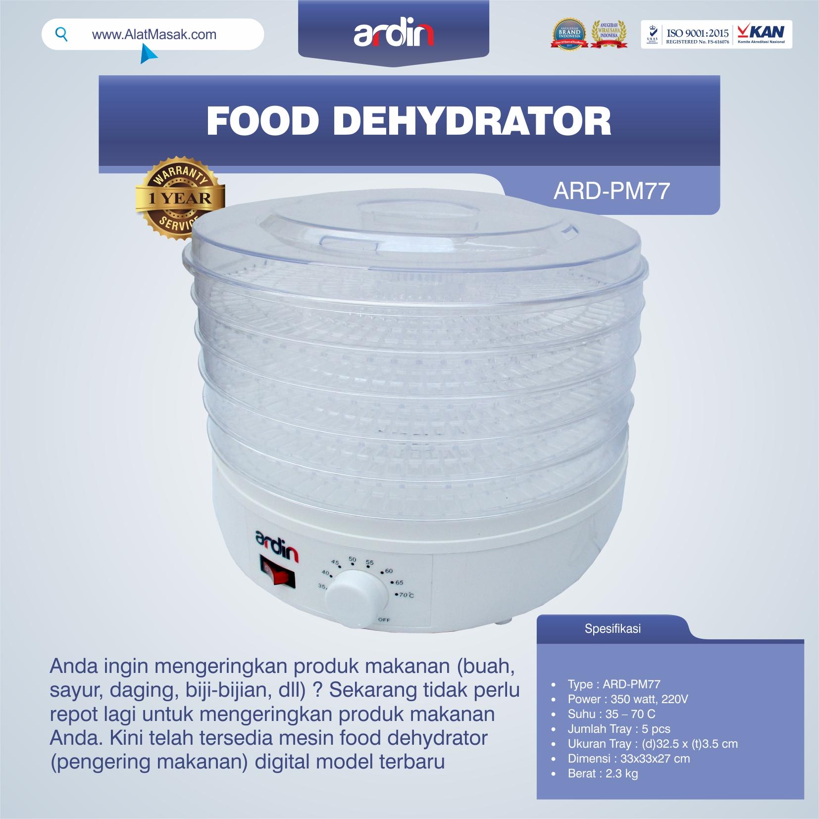 Jual Food Dehydrator ARD-PM77 di Yogyakarta