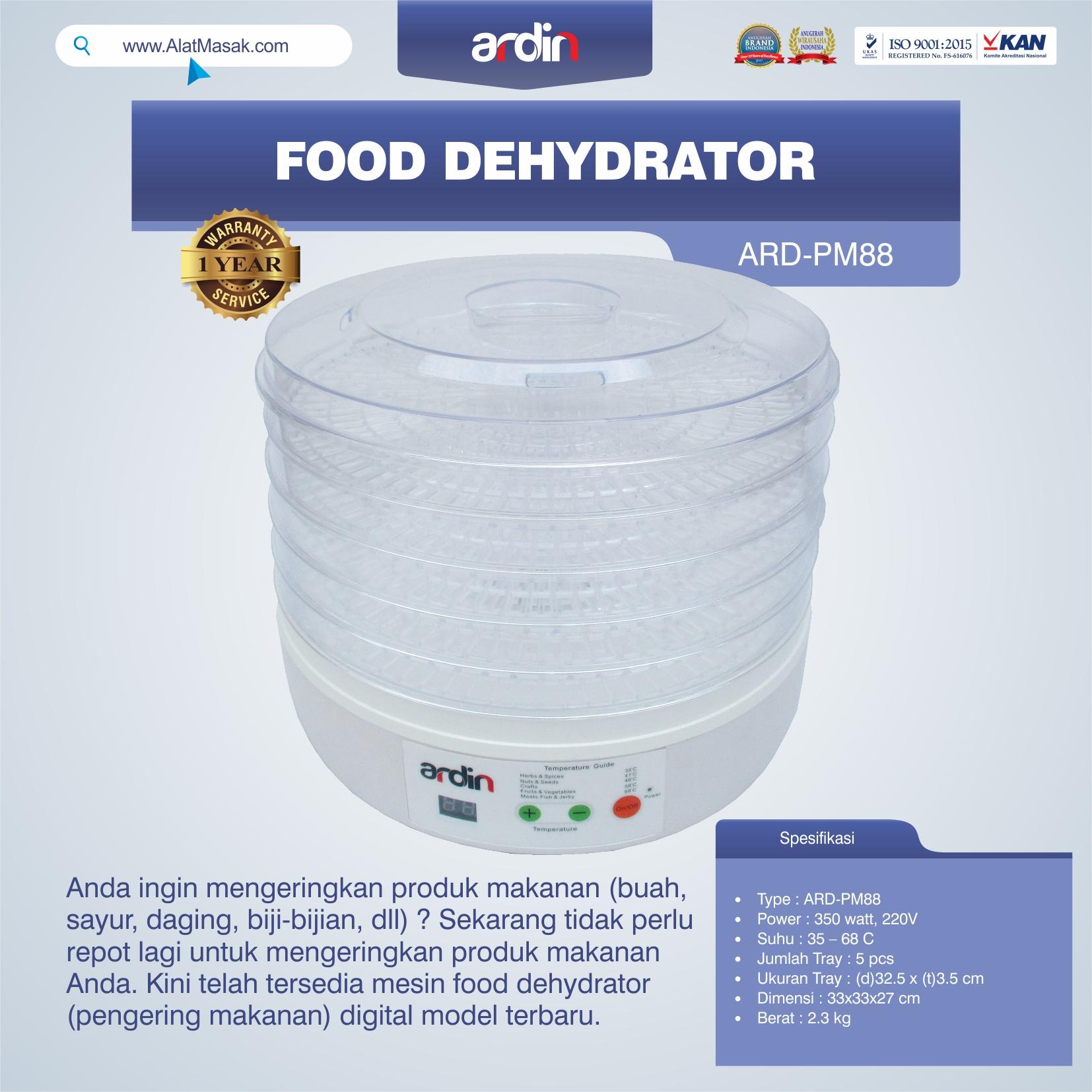 Jual Food Dehydrator ARD-PM88 di Yogyakarta
